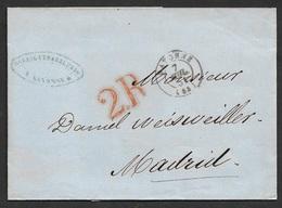 1851 LSC Bayonne A Madrid, Espagne. - 1849-1876: Classic Period