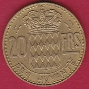 Monaco - Rainier III - 20 Francs - 1951 - 1949-1956 Anciens Francs