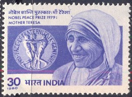 INDIA - RNOBEL PRIZE  MOTHER TERESA - **MNH - 1980 - Mother Teresa