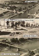 - BENOUVILLE - Multivues: Aérienne, Pégasus Bridge, 6 Juin 1944 Et Pont De L'Orne  -19843- - Otros Municipios