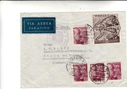 Madrid To Stein. Cover 05 Giugno 1939. Estafeta N°4 + Censura - 1931-50 Storia Postale