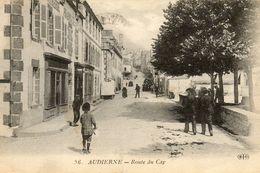 - AUDIERNE - Route Du Cap  (bien Animée) -19846- - Audierne