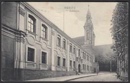 AK Konitz Gymnasium 1915 Westpreussen Jetzt Chojnice Polen   (22142 - Westpreussen