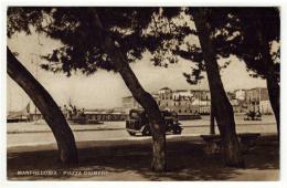 MANFREDONIA Foggia Piazza Diomede Con Automobile - Manfredonia