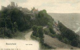 Cpa Bourscheid (Luxembourg) Les Ruines - Non Classés
