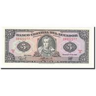 Billet, Équateur, 5 Sucres, 1988-11-22, KM:120A, SPL+ - Equateur