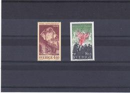 SUEDE 1988 Yvert 1474-1475 NEUF** MNH - Suède