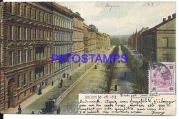 98942 CZECH REPUBLIC ČESKÁ REPUBLIKA BRUNN SCHMERLING STREET CIRCULATED TO ARGENTINA POSTAL POSTCARD - Bosnie-Herzegovine