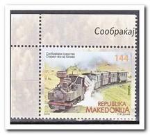 Macedonië 2018, Postfris MNH, Trains - Macedonië