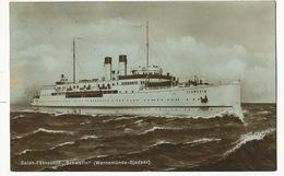 "Salon Fahrschiff "" Schwerin "" ( Warnemunde - Gjedser ) Used On The Ship - Danemark"