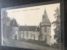 58 Chatillon En Bazois Chateau - Chatillon En Bazois