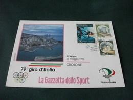 CICLISMO 79° GIRO D'ITALIA  5° TAPPA CROTONE VEDUTA AEREA - Cycling