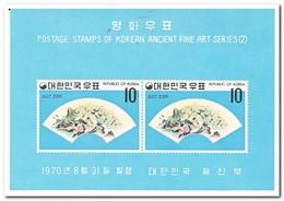 Zuid Korea 1970, Postfris MNH, Subjects Painting - Korea (Zuid)