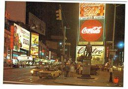 Amérique Etats-unis - New-YOrk Time Square - Pub  Coca Cola - Time Square