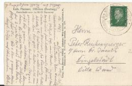 Deutsches Reich  Sw Ansichtskarte EF 1930 Sonderstempel Duderstadt - Germany