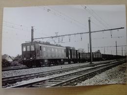 91  JUVISY     LA   MACHINE     B  B  8   LE   TRAIN  DE  MARCHANDISES   AU TRIAGE  DE  JUVISY - Juvisy-sur-Orge