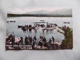 VINTAGE IRELAND: KILLARNEY Lower Lake Colour Tint PEOPLE - Irlanda