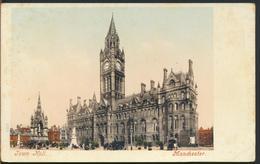 °°° 11743 - UK - TOWN HALL , MANCHESTER °°° - Manchester