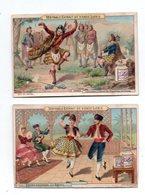 Liebig. Danses Nationales. Le Bolero.  La Danse Des Claymores En Ecosse - Liebig