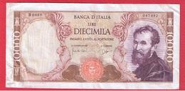 Italie  -  10000 Lires 3/7/1962  -  Pick # 97  -  état  TTB - 10000 Lire