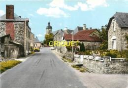 35 Nouvoitou, Le Bourg, Route De Chateaugiron, Estafette Renault, Ami 6 Citroën... Carte Pas Courante - France
