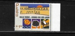 Peru 2001 Lurin River Valley MNH - Peru
