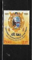 Peru 2001 San Marcos University 450 Anniversary MNH - Pérou