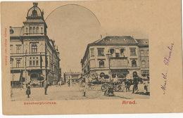Arad Szechenyi Uteza Used To Cuba 1902 - Roumanie