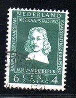 Pays Bas / N 565 / 6 Centimes + 4 Centimes Vert / Oblitéré - Period 1949-1980 (Juliana)