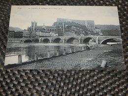HUY  -  La Citadelle , La Collégiale Et Le Vieux Pont - Huy