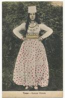 Tirana Kostumi Tiranès  Edit Guga Shoku Woman Dress Color - Albanie