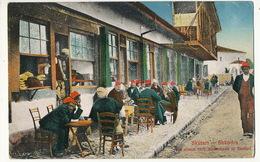 Skutari Shkodra  Vor Einem Turk Kaffeehaus Used 1920 No Stamp Edit Ndrek Kaçulini - Albania