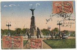 Tallinn Reval  Russalka P. Used To Santa Clara Cuba  5 Stamps 1922 Esperanto - Estonia