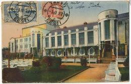 Tartu  P. Used To Santa Clara Cuba  3 Stamps 1922 Esperanto Edit Taik - Estonia