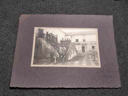 ANTIQUE ORIGINAL PHOTO PORTUGAL MADEIRA ISLAND PALACIO DE S. LOURENÇO W/ MILITARY SOLDIERS AND GENERAL - Plaatsen