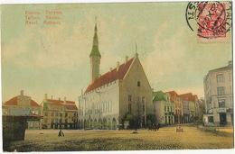 Tallinn Reval Rathaus  P. Used To Santa Clara Cuba  1923 Esperanto - Estonie