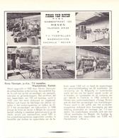 Pub Reclame Org. Knipsel Tijdschrift - TV Toestellen Wasmachines Firma Van Royen - Menen - 1961 - Advertising