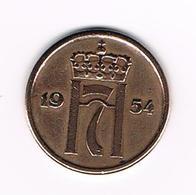 =&   NOORWEGEN  2   ORE 1954 - Norvège