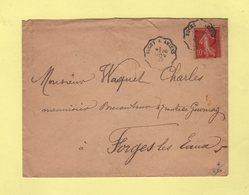 Convoyeur - Buchy à Amiens - 1907 - Marcophilie (Lettres)