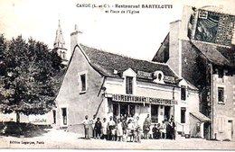 Cande Restaurant Bartelotti Et Place De L'eglise - Autres Communes