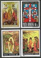 Romania 1992 1993 1995 1996 Scott 3744 3803 3990 4080 MNH Easter - 1948-.... Républiques