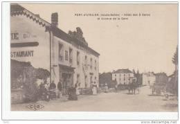 HAUTE SAONE PORT D'ATELIER HOTEL DES DEUX GARES ET AVENUE DE LA GARE - Francia