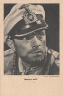HERBERT WILK Als Fliegeroffizier WK II, Foto Uta-Baumann, Rossverlag Berlin - Schauspieler