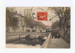 Nîmes. Quai Et Canal De La Fontaine. (3077) - Nîmes