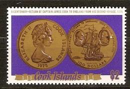 Cook Islands 1975 Yvertnr 427 *** MNH Cote 10 Euro Munten Coins - Cook