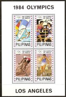 Pilipinas Philippines 1984 Yvertn° Bloc 20 *** MNH Cote 12,50 Euro Euro Sport Jeux Olympiques Los Angeles - Philippines