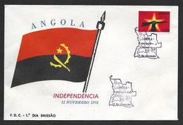 Angola FDC Indépendance 1975 Independence FDC 1975 - Angola