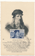 Carte Maximum, AMBOISE - Congrès International Léonard De Vinci - Cartes-Maximum