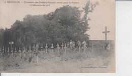02 BEAUVOIS  -  Cimetière Des Soldats Français Morts Pour La France à L'offensive De 1918  - - Autres Communes