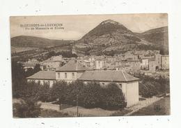 Cp , 12 ,  SAINT GEORGES DE LUZENCON , Pic De MENASCLE Et écoles ,vierge - France